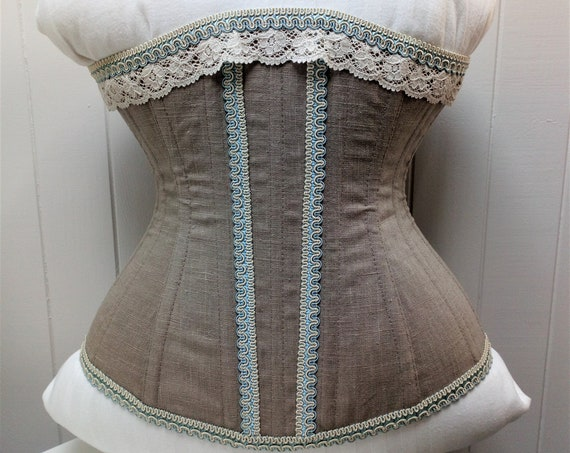 Tightlacing Corset, Waist Training Corset, Wedding Night Corset, Victorian Wedding, Hourglass Corset,Edwardian Wedding,Bridal Night Lingerie