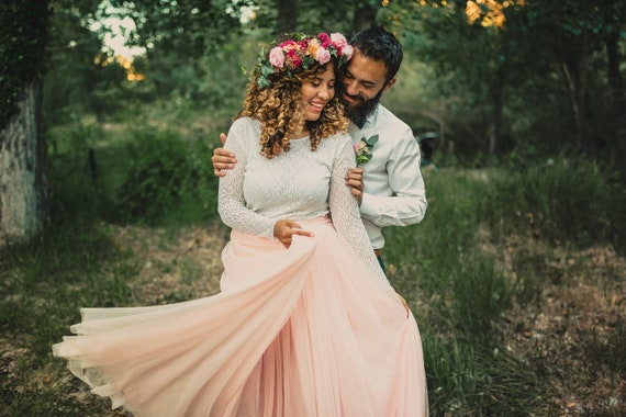 Wedding Tulle Skirt, Tulle Maxi Skirt, Floor Length Skirt, Boho Wedding, Bachelorette Party Skirt, Rustic Wedding, Bridesmaid Skirt, Prom
