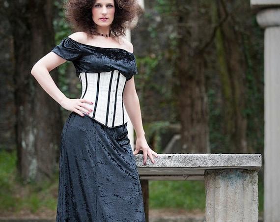 Velvet Medieval Dress, Gothic Maxi Dress, Black Witch Dress, Women Prom Dress, Pagan Dress, Black Velvet Dress, Cocktail Dress, Fantasy Gown