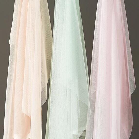 Soft tulle sample for wedding dress - Boho wedding dress - Wedding skirt - Boho chic wedding