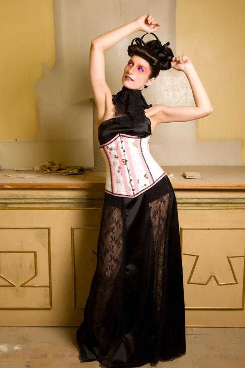 e3122abac25807 Longue jupe - jupe gothique - dentelle et jupe en satin - dentelle noire -  satin noir - Fetish - Alternative mariage - Goth noir foncé - mariage