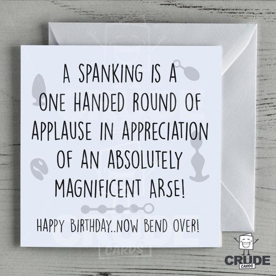 Geburtstag spanking Erwachsene Paddle