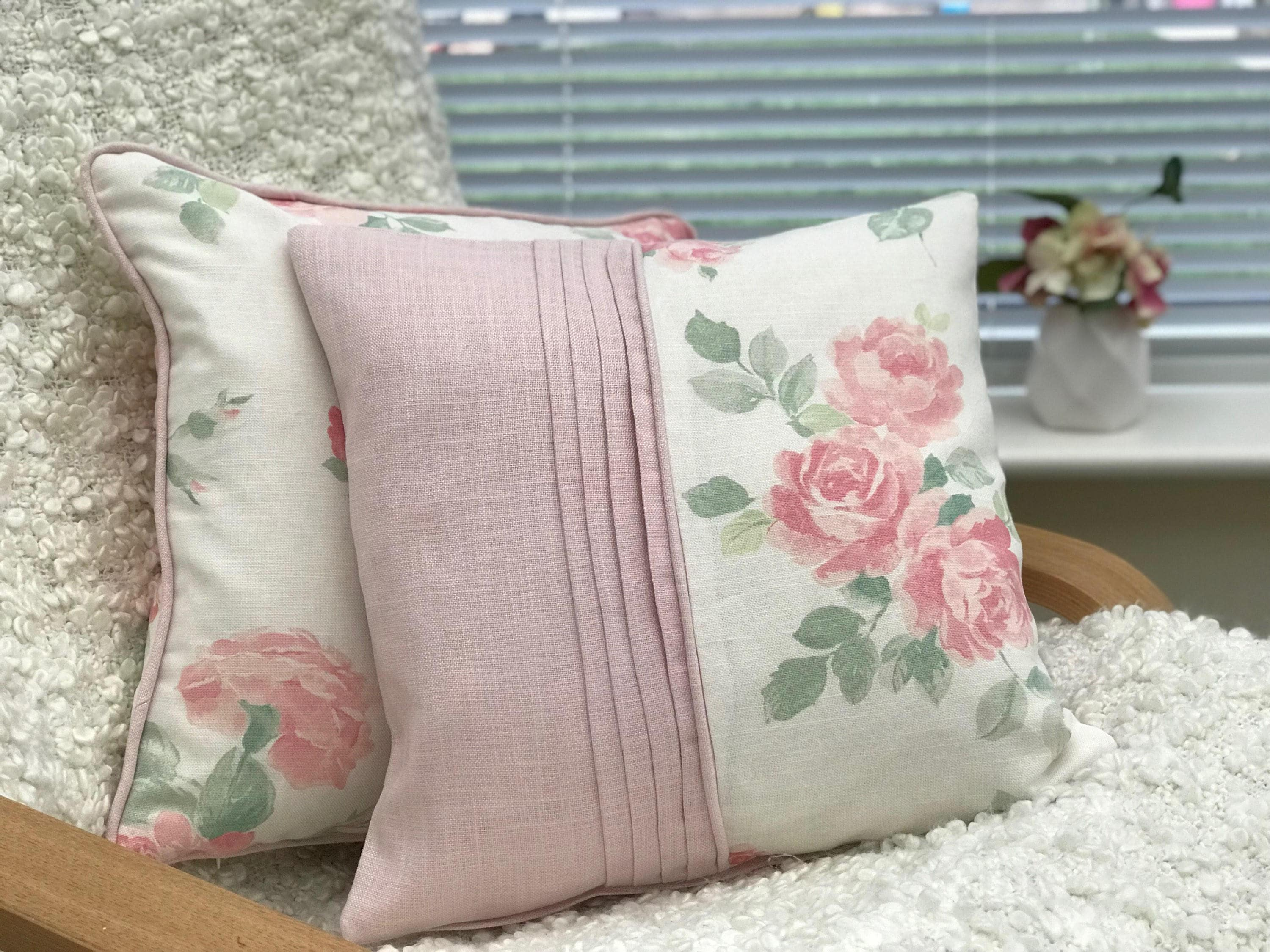 Floral Cushion Pillow Scatter Cushion Cushion Coverbundle Pink