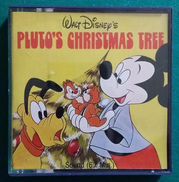 Plutos Christmas Tree.Walt Disney Cinecasa Pluto S Christmas Tree 1982