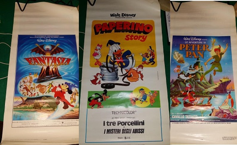 Playbills/original Disney Movie Posters