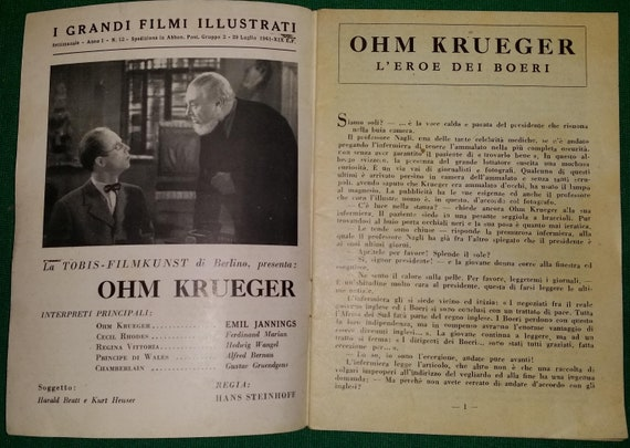 Book Ohm Krueger the hero of the Boers 1941