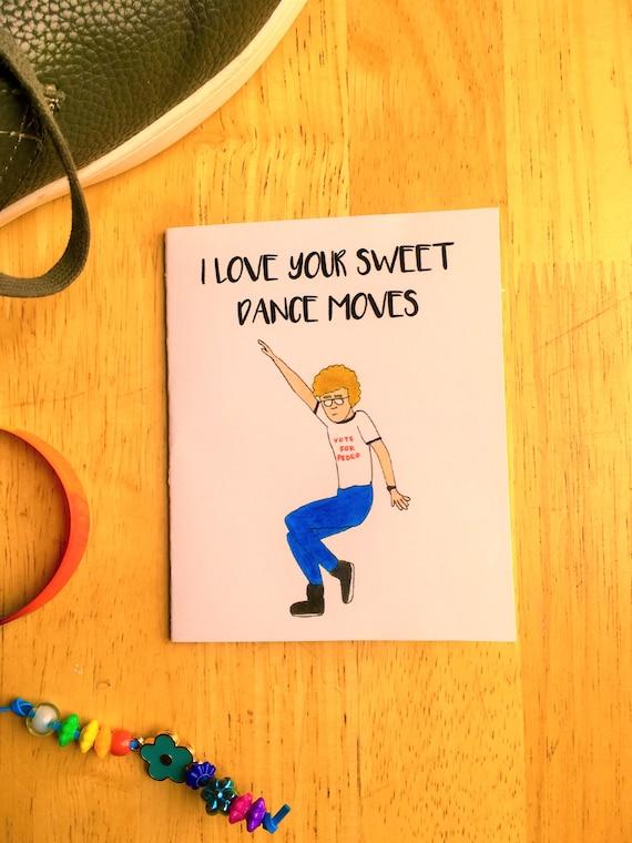 Napoleon Dynamite Card Funny Cute Romantic Card Birthday Etsy