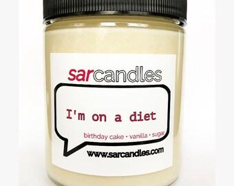 Diet Sarcastic Candle - SarCandles