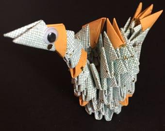 Homemade Paper Crane