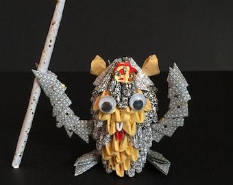 Handmade Chinese Paper Zodiac Monkey