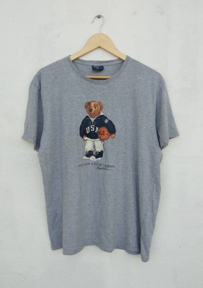 cb970c8132254 Vintage 90s POLO BEAR By Ralph Lauren Nice Design NotbVersace | Etsy