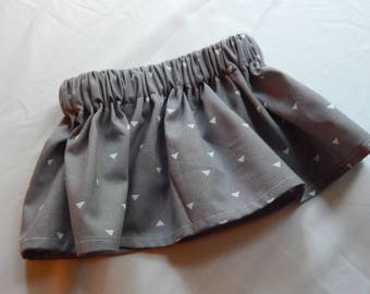 Grey Triangle Baby/Toddler Skirt