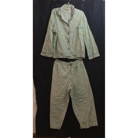 Victoria's Secret Pajama Set Large Vintage