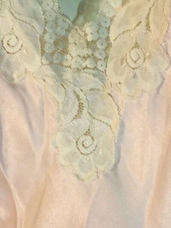 Val Mode Chemise Pink Large Vintage