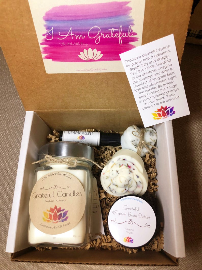 Grateful Candles Monthly Subscription Box Gift Ideas
