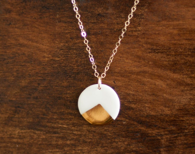The Clock Necklace