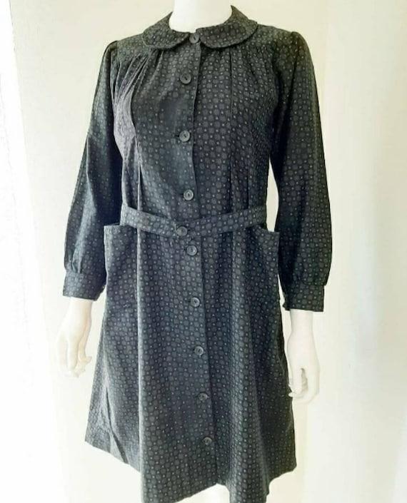 Vintage French Workwear Calico Farmhouse Chore Wor