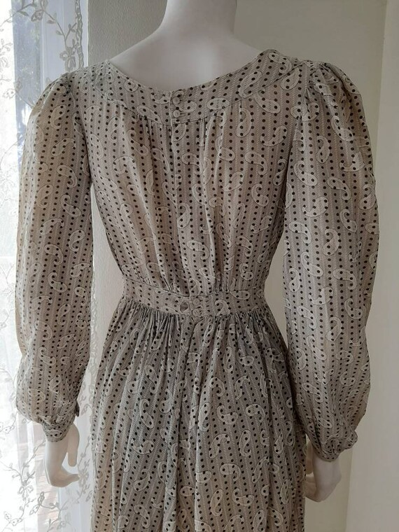 Early Antique 1900s Country Calico Patched Cotton… - image 4