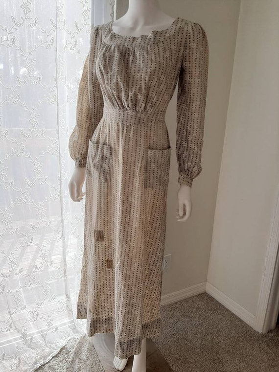 Early Antique 1900s Country Calico Patched Cotton… - image 2