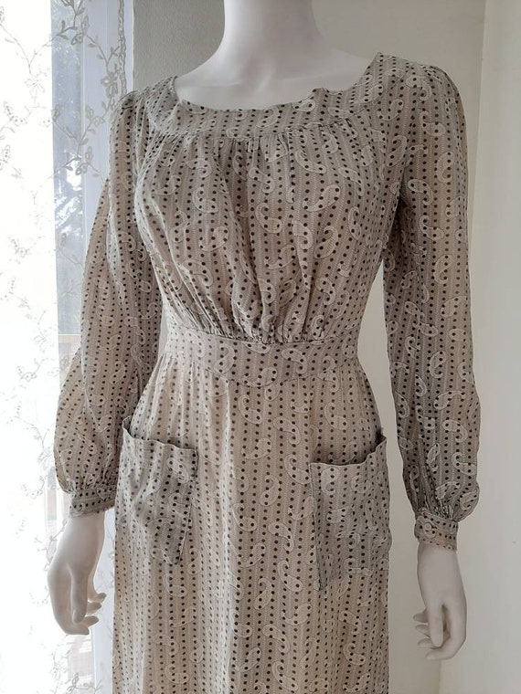 Early Antique 1900s Country Calico Patched Cotton… - image 3