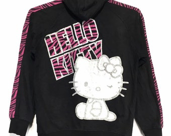 1782196b0 Vintage Hello Kitty hoodie full zip sweatshirt
