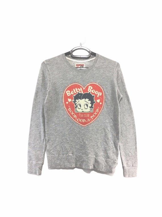 Vintage Betty Boop Sweatshirt