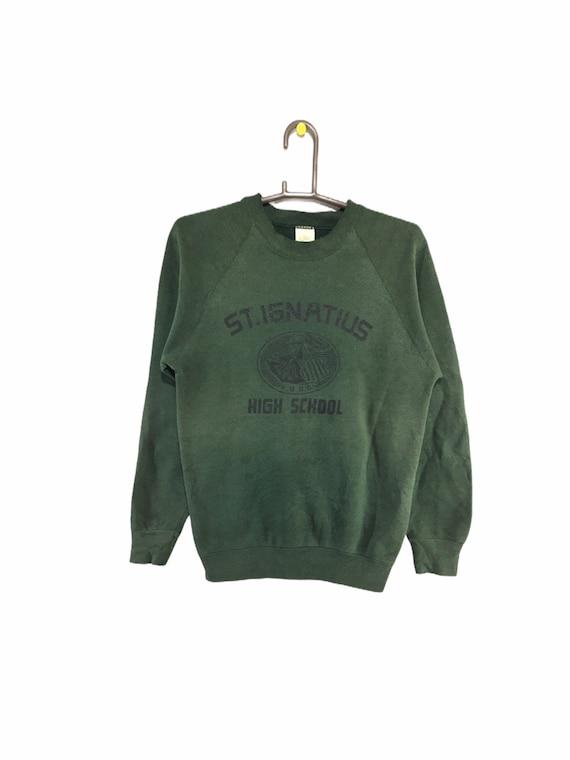 Vintage 80s St.Ignatus High School sweatshirt