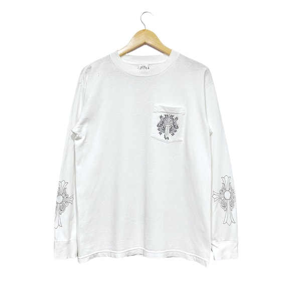 Vintage USA Chrome Hearts Long Sleeve T-shirt