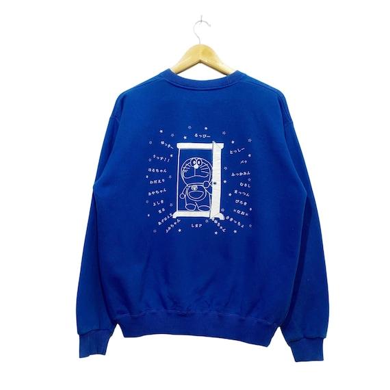 Vintage Doraemon sweatshirt pullover jumper