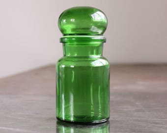 Apothecary Jar in Green