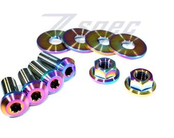 /'09-18 Nissan 370z Z34 fits Titanium Engine Cover Bolts