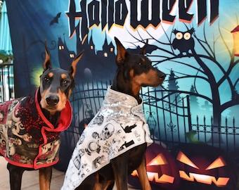 Halloween Coat, Doberman Coat, Dog Coat Winter, Great Dane Coat, Dog jacket, Dog Winter Coat, Boxer Coat, Greyhound Coat, Weimaraner Coat
