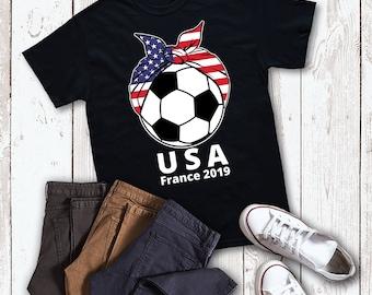 eb2009b2dbb USA Womens Soccer T Shirt
