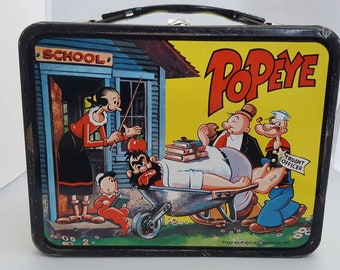 vintage 1964 popeye lunch box with thermos - What Do You Get A Wookie For Christmas