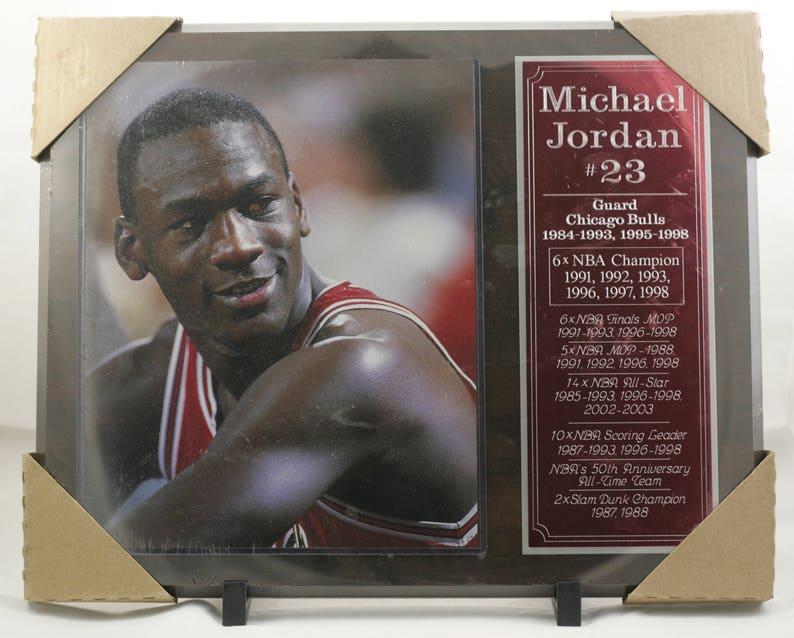 cdf8a6623f7 Michael Jordan Chicago Bulls Plaque