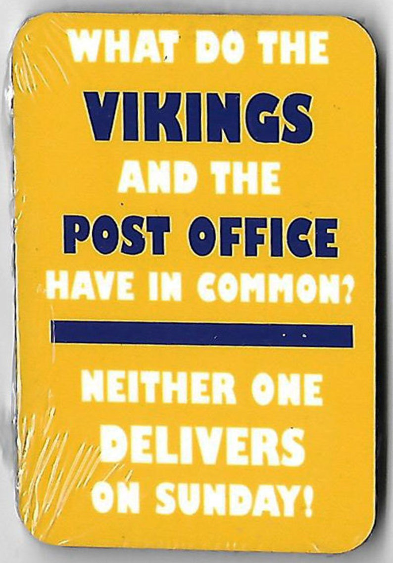 a6893e8173 Funny anti Minnesota Vikings magnet for Green Bay Packers fans | Etsy