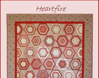 Heartfire Quilt Pattern