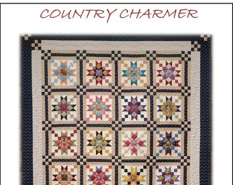 Country Charmer Quilt Pattern