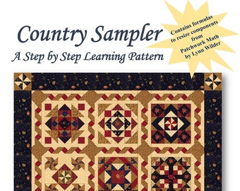 Country Sampler Quilt Pattern