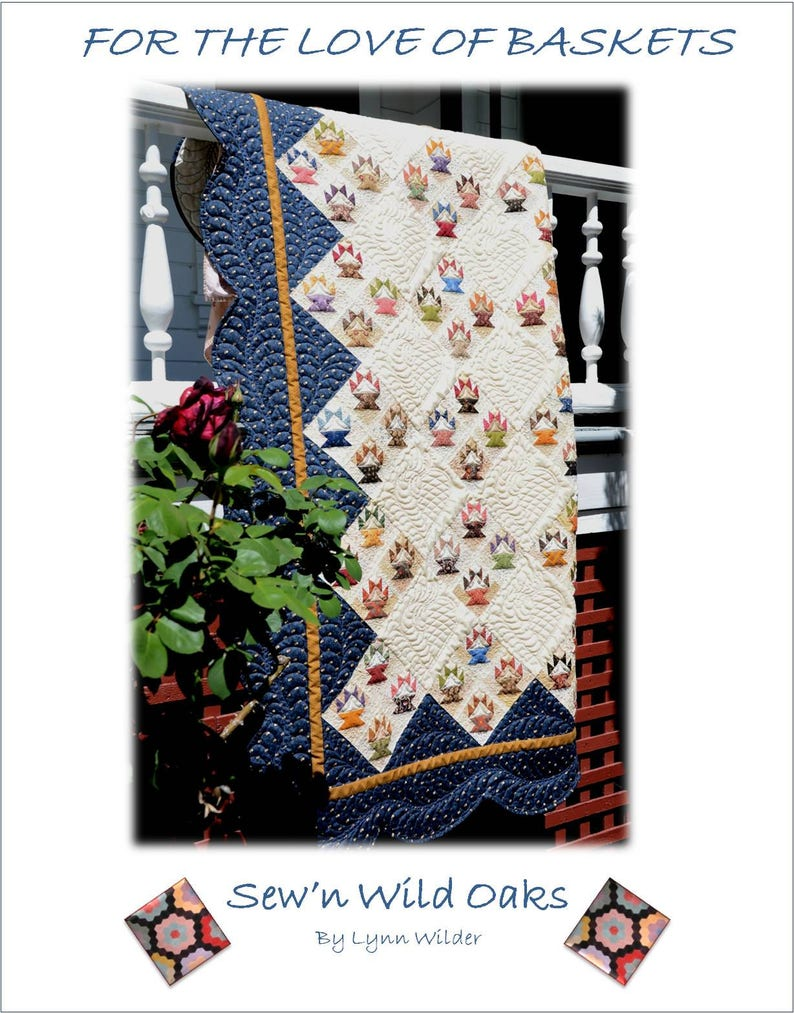 For The Love of Baskets Quilt Pattern image 0