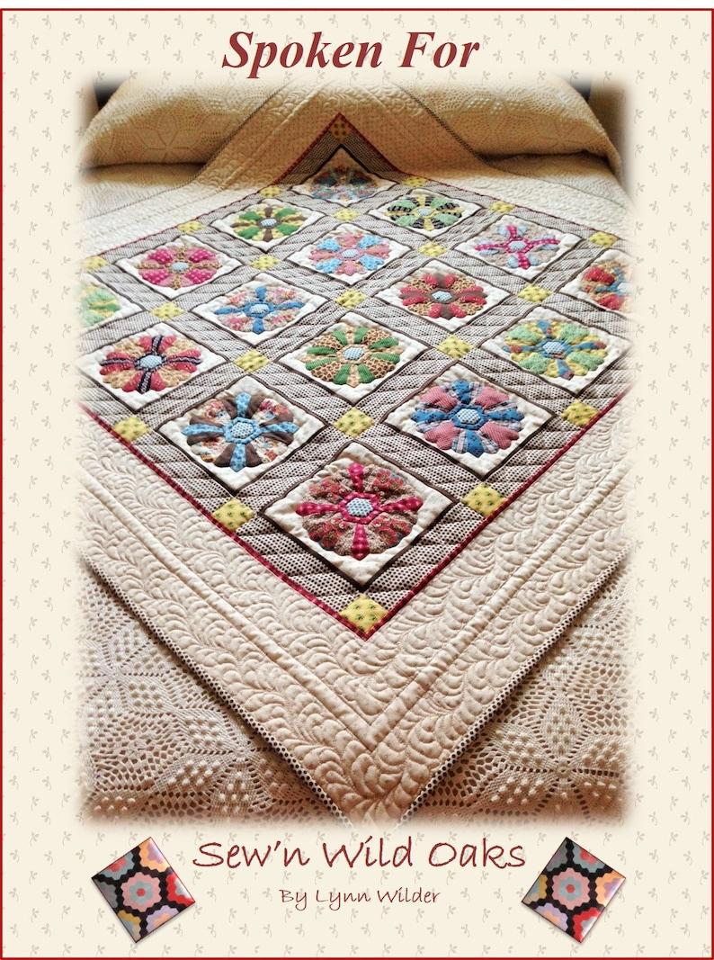 Spoken For Quilt Pattern image 0