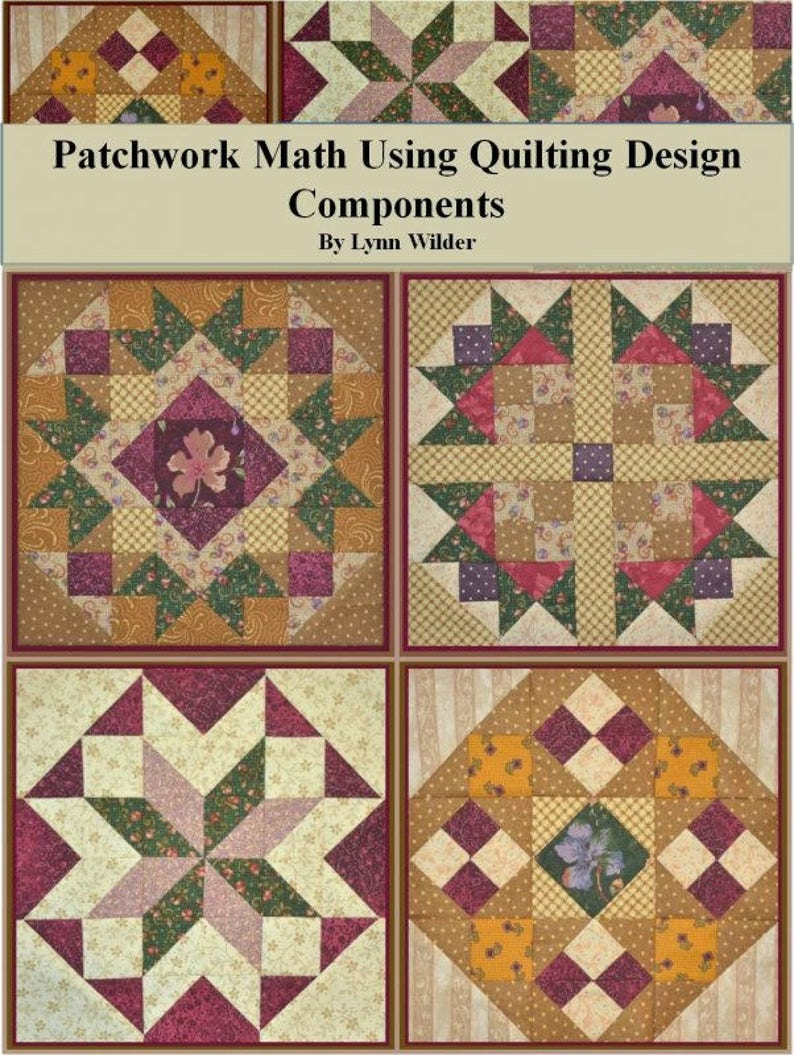 Patchwork Math Using Quilting Design Components image 0