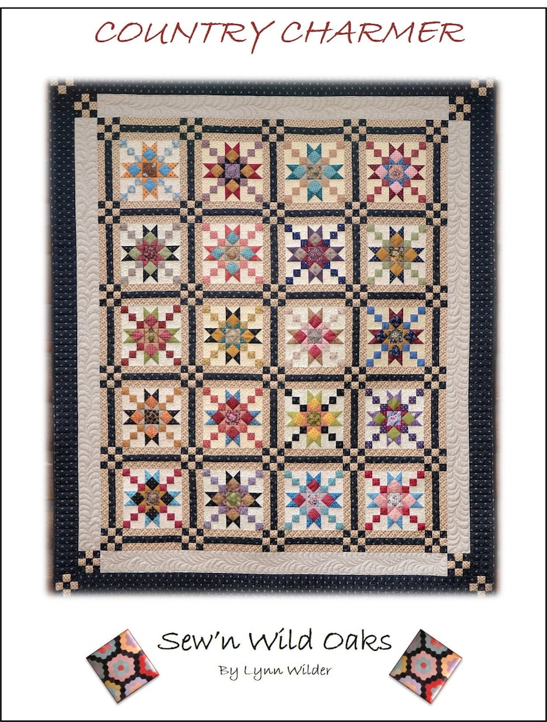 Country Charmer Quilt Pattern image 0
