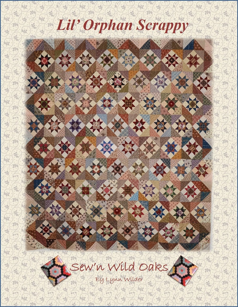 Lil' Orphan Scrappy Quilt Pattern image 0