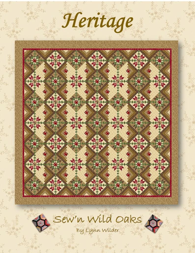 Heritage Quilt Pattern image 0