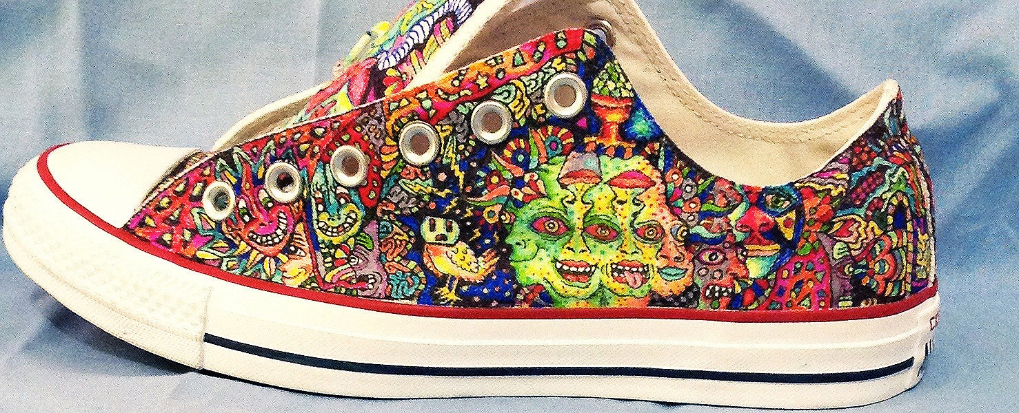 dfc4506d1c5cd8 Converse all star low top custom shoes chuck taylors etsy jpg 1478x600 Converse  sharpie art