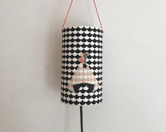 lamp light pink teepee