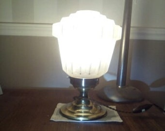 lamp from the 30s-40s french vintage
