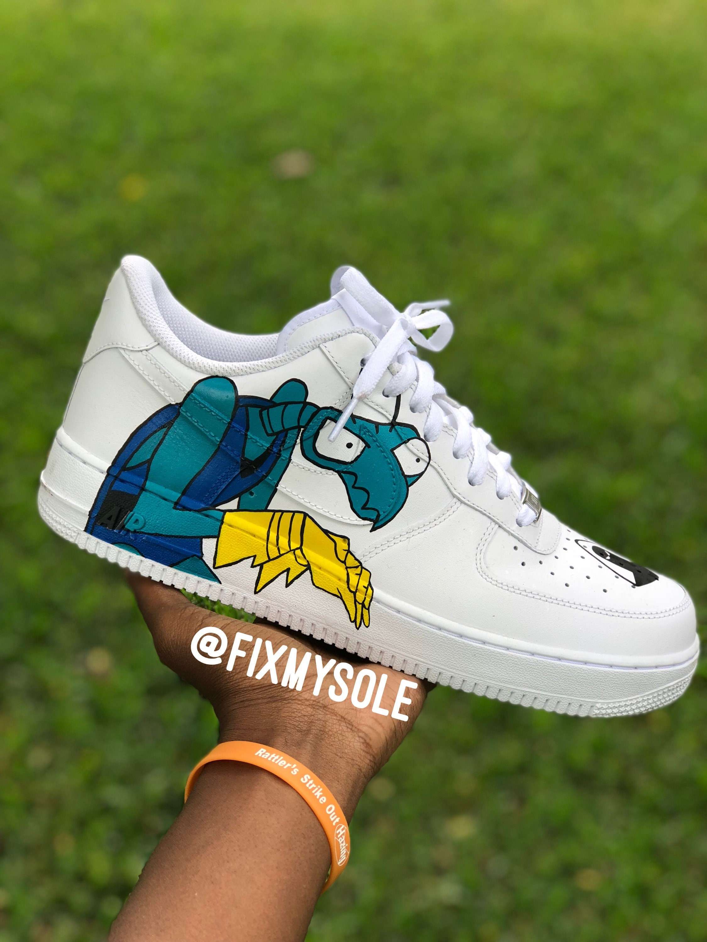 Espace Ones personnalisé Ghost Air Force Ones Espace ae3cde