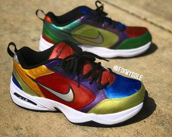 What the Metallic Nike Air Monarch